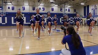 Cheerleaders Homecoming Dance Routine