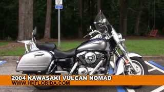 6. Used 2004 Kawasaki Vulcan Nomad Motorcycles for sale