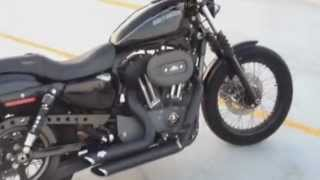 9. 2011 Harley Davidson XL 1200N Sportster Nightster (walk around,started and running)