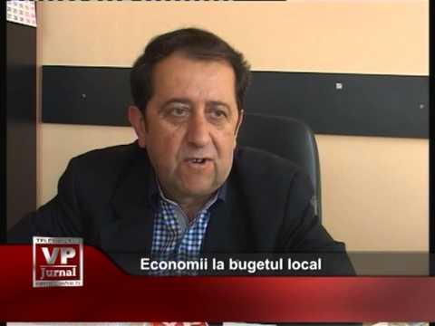 Economii la bugetul local