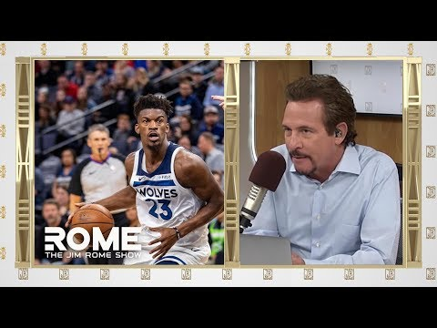 Video: The Rockets WANT Jimmy Butler | The Jim Rome Show