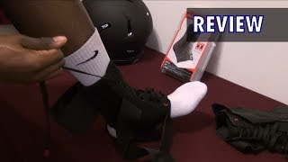 McDavid Ankle Brace Review Facebook: http://www.facebook.com/iknowfootball Instagram:...