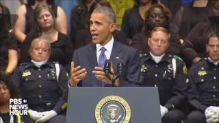 Video President Obama speaks at Dallas police memorial service MP3, 3GP, MP4, WEBM, AVI, FLV Agustus 2019