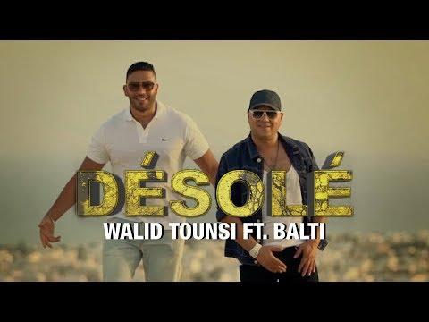 Walid Tounsi Ft. Balti - Désolé (Exclusive)   (وليد التونسي فيت بلطي - ديزولي (فيديو كليب حصري
