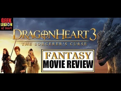 DRAGONHEART 3 : THE SORCERER'S CURSE ( 2015 ) Fantasy Movie Review