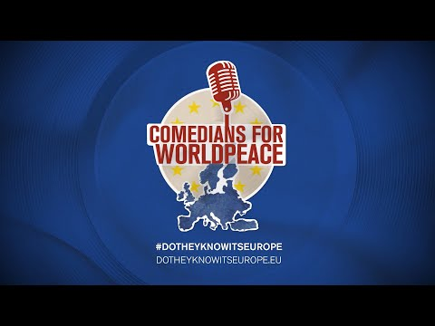 Comedians for Worldpeace - Do they know it's Europe
