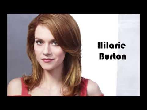 Hilarie Burton family