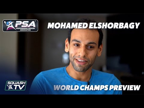 Squash: Mohamed ElShorbagy looks ahead to the 2019/20 Men's World Champs