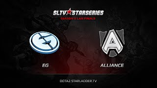 Alliance vs Evil Genuises, game 1