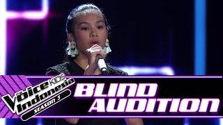 Video Vanessa -  Dusk Till Dawn | Blind Auditions | The Voice Kids Indonesia Season 3 GTV 2018 MP3, 3GP, MP4, WEBM, AVI, FLV Juli 2018