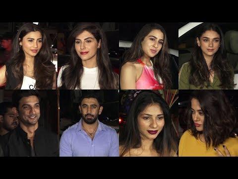 Namrata Purohit's Event Flow | Sara Ali Khan, Sushant Singh Rajput, Daisy Shah, Aditi Rao Hydari