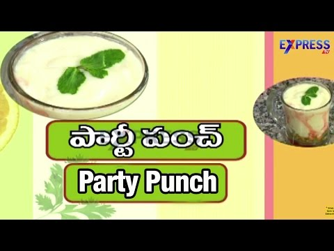 Party Punch Recipe : Yummy Healthy Kitchen   Express TV