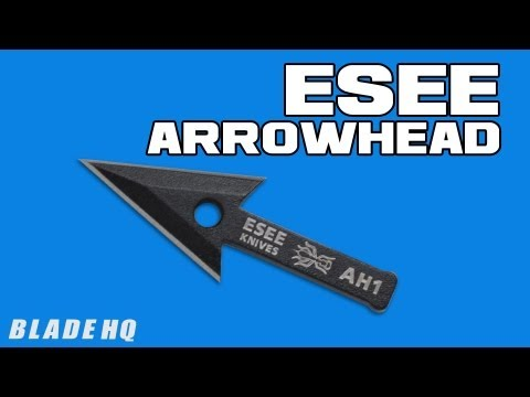 ESEE Arrowhead Survival Blade (Black) AH-1