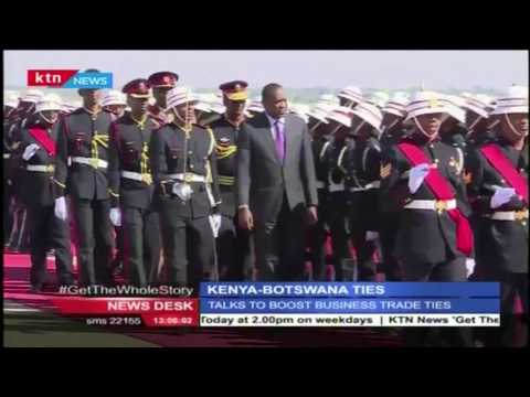President Uhuru flies to Botswana to enter talks to boost business trade ties with Botswana