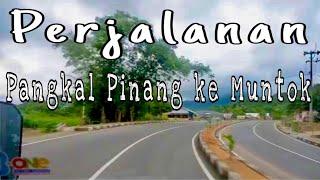 Pangkalpinang Indonesia  city images : Road to Muntok from Pangkal Pinang, Bangka - Indonesia