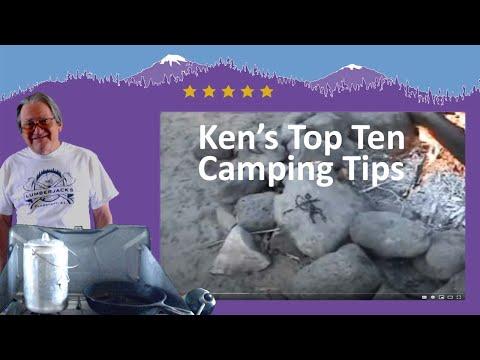 Ken's Top Ten Camping Tips .wmv