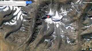 Video Lord Shiva's mount kailash view from satellite map in Google Earth MP3, 3GP, MP4, WEBM, AVI, FLV September 2018
