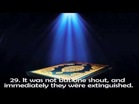 Surah Yasin shaikh Mishary Rashid Al Afasy