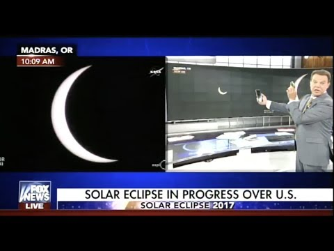 Shepard Smith s Eclipse Coverage Was Fantastic
