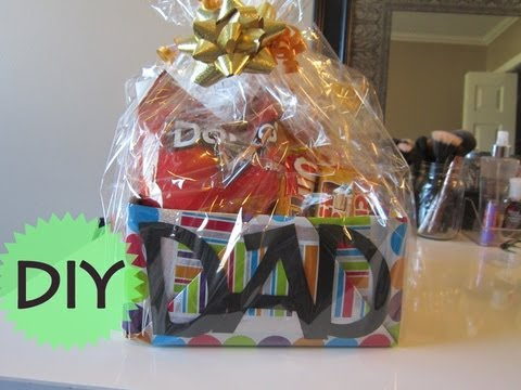 fathers day gift - Vlog Channel: www.youtube.com/bethanyjchan Direct link to this tumblr post! http://bethanyjc.tumblr.com/post/54613516487/here-is-an-easy-diy-gift-basket-idea...