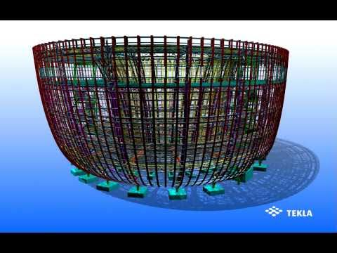 Le Pavillon de la Finlande Kirnu de l'Exposition Universelle de Shanghai a été conçu avec Tekla Structures