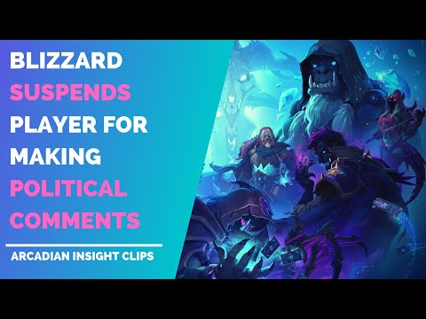 Blizzard Suspends Player for Hong Kong Political Statement