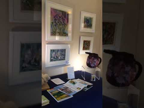 Art in Textiles Solo Exhibition, Claydon Estate, Buckinghamshire