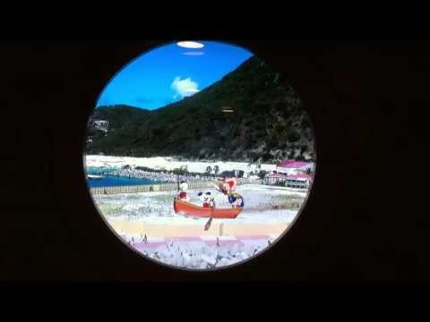 Donald Duck in Porthole