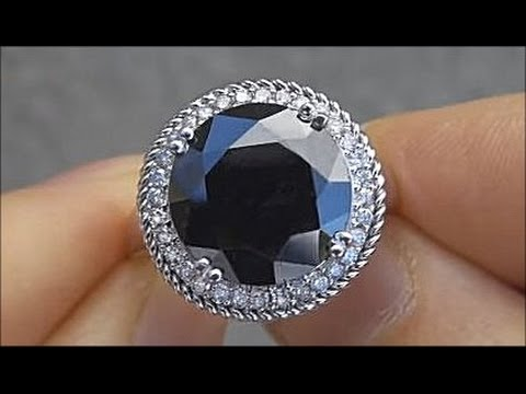 Rare GIA Certified Huge Black Diamond Engagement Ring - $300,000 Jewelry Collection ebay Auction