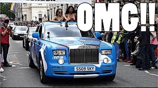 THE CRAZIEST DAY OF MY LIFE: MODBALL RALLY!! by Supercars of London