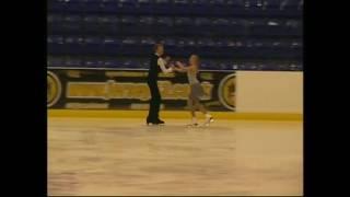 Winners of the British Ice Dance Championships 15/16