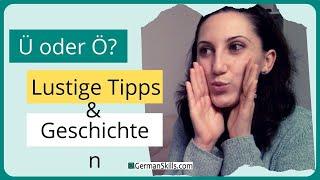 Tag 4: Challenge Deutsch lernen - Ü und Ö - für Aussprache-Fans