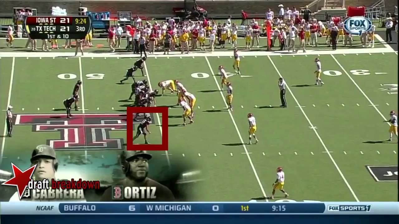 Jace Amaro vs Iowa State (2013)