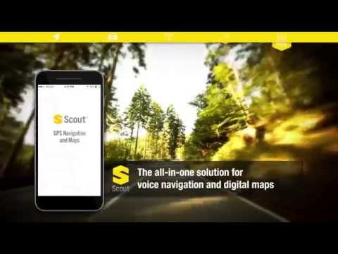 Video of GPS Navigation & Maps - Scout