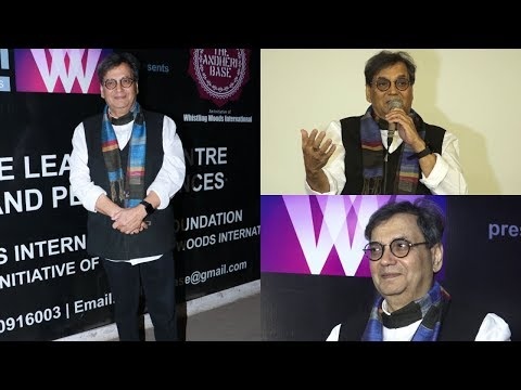 Subhash Ghai At Special Screening Of Short Film Gandhi
