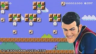 We Are Number One but it's in Super Mario Maker