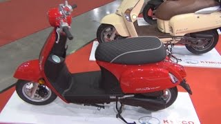 5. KYMCO New Sento 50i (2015) Exterior and Interior in 3D