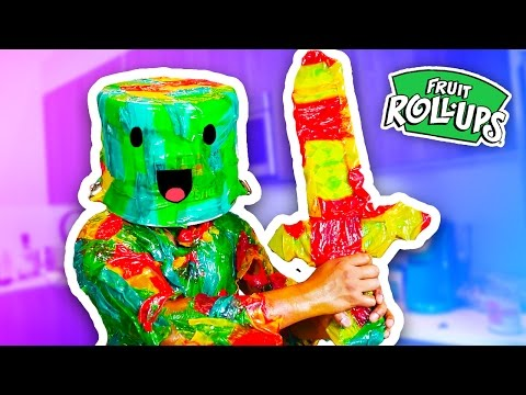 DIY How To Make FRUIT ROLL UP ARMOR!