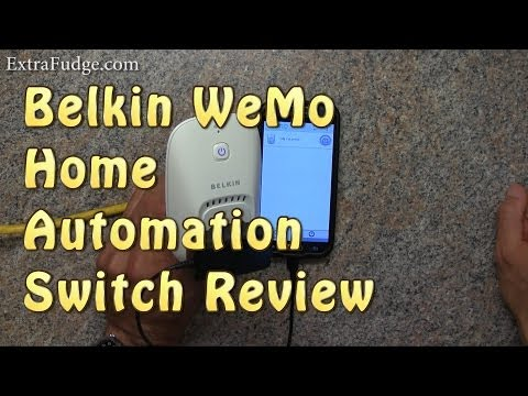 Belkin WeMo Home Automation Switch Review (internet enabled electric outlet / socket)