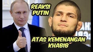 Video Inilah reaksi Vladimir Putin atas kemenangan Khabib Nurmagomedov MP3, 3GP, MP4, WEBM, AVI, FLV Desember 2018