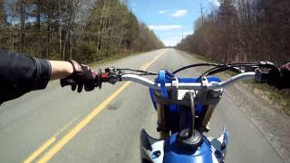 9. 2005 Yamaha YZ450F Top Speed | GoProHD