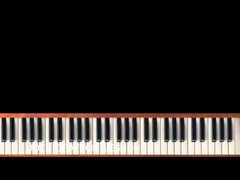 There's A Story, Behind My Praise - Piano Tutorial