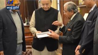 frbm panel submits 4 volume report to arun jaitley