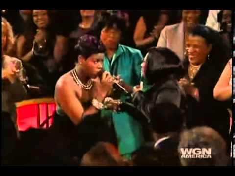 Video Tribute to Patti LaBelle - Fantasia Barrino sings
