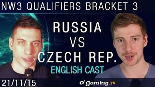 Russia vs Czech Republic - NationWars III - Qualifiers Bracket 3 - Match 1 [EN]