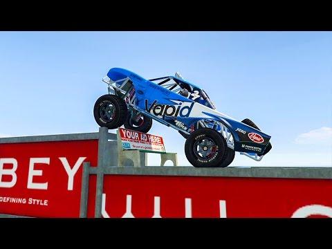 TROPHY TRUCK HARD PARKOUR ! GTA 5 ONLINE (видео)