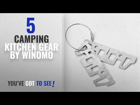 Top 5 Winomo Camping Kitchen Gear [2018]: WINOMO Stove Cross Stand Stainless Steel Camping Stove