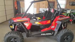 This is my brand new RZR 1000s that I just bought, I sold my 900 trail to try out this 1000s model. I can't wait until I can try this on the trails !!!  I will be posting a full rider review video of this once I put a few miles on it !!LIKE OUR FB PAGE https://www.facebook.com/519-CREW-186885398038785/