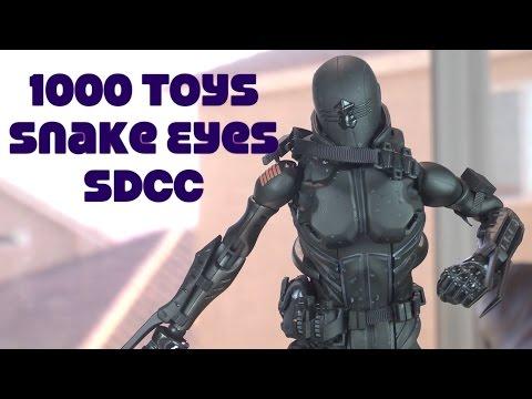 SDCC 1000 Toys Hasbro G.I. Joe Snake Eyes Visual Tour