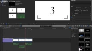 Adding Titles and End Credits in FCP X